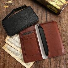 Kisscase кожаный бумажник телефон чехол для iPhone 5 6 6 S 7 Plus сумочка-чехол для Samsung S7 S8 S8 край J5 A5 для Huawei P9 P8 Lite