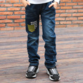 Ripped Jeans for Kids Jeans Boys Trousers 2017 Spring New Patchwork Boys Jeans Children Pants Boys Pant Fashion Kids Wears