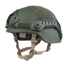 Airsoftsports пистолет Ach Mich 2000 Шлем специальный тактический стычка страйкбол шлем Мультикам MC цвет EM8978