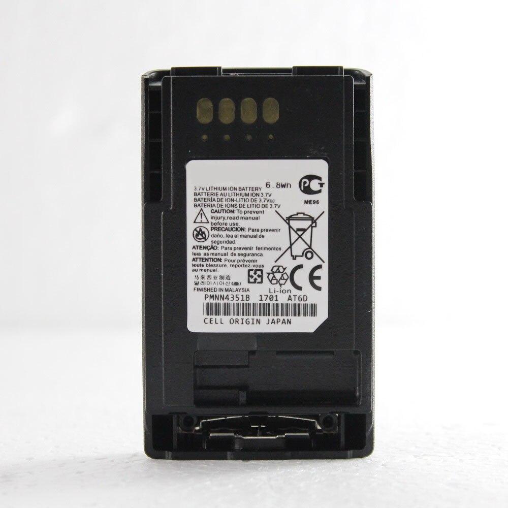 imágenes para 5 Unids PMNN4351B FTN6574A 3.7 V Li-Ion batería Ampliada 1850 mAh para MTP850S MTP850FUG MTP830S CEP400 MTP800 MTP850 TETRA radio