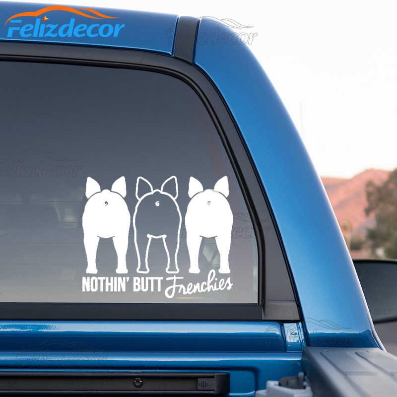 Frenchie Mom Dog Bone Car Fridge Magnet 2x7 Cute with paw prints NEW Waterproof