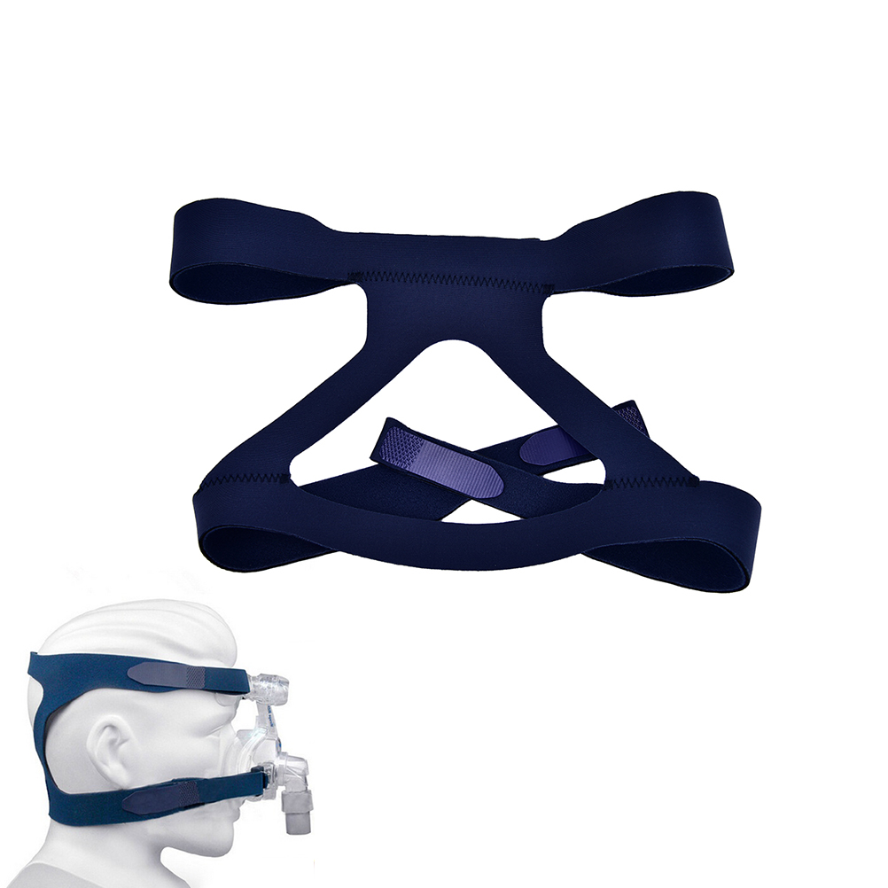 1Pc Universal Headgear Comfort Gel Full Mask Replacement Part CPAP Head Band For Respironics Resmed Resmart Without Mask