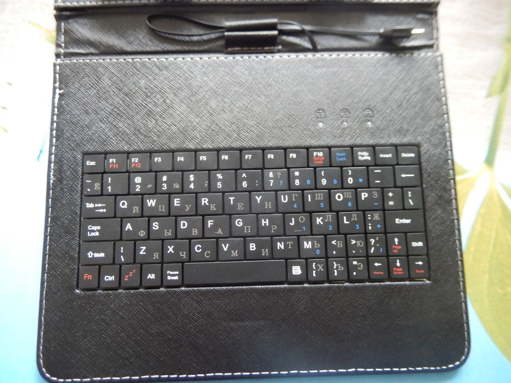 Universal Russian Keyboard Case for 10 1 Tablet PC for 10 1inch Allwinner A20 A23 A33