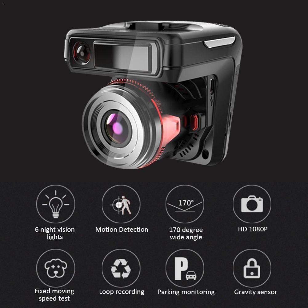 Автомобильный видеорегистратор Даш Камера запись Скорость ometer 2-в-1 перемещение Скорость тестирование E-собака автомобильные данных Регист...