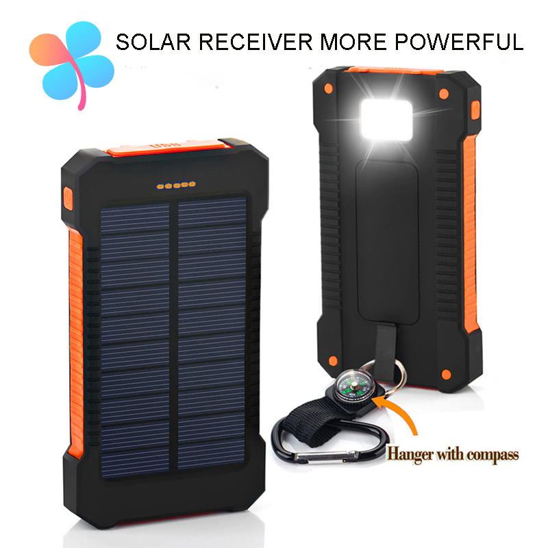 buy top solar power bank dual usb travel. Black Bedroom Furniture Sets. Home Design Ideas
