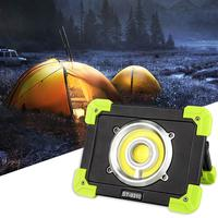 20W Portable Lanterns COB Led Camping Tent Lamp Outdoor Working Light Spotlight USB Rechargeable Flood Light Waterproof ip44