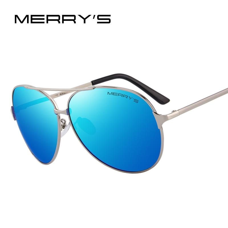MERRY'S CONCEPTION Hommes/Femmes Classique Aviation Polarisée Conduite lunettes de Soleil 100% UV Protection S'8008
