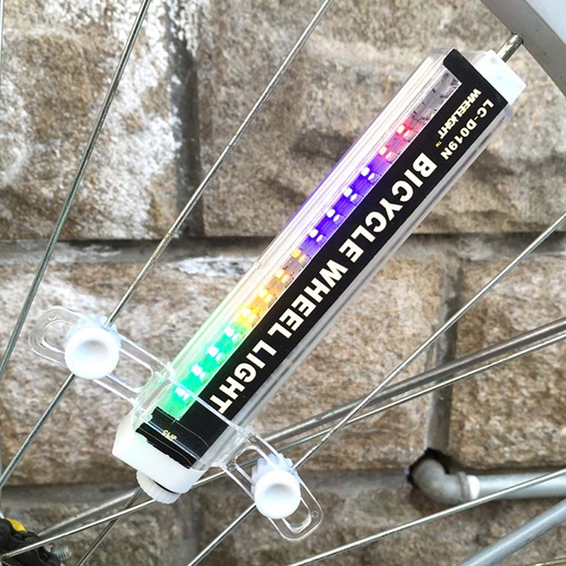 Cool New High Quality Bike Bicycle Cycling Wheel Spoke Tire Wire Tyre LED Light Lamp 16 Colour