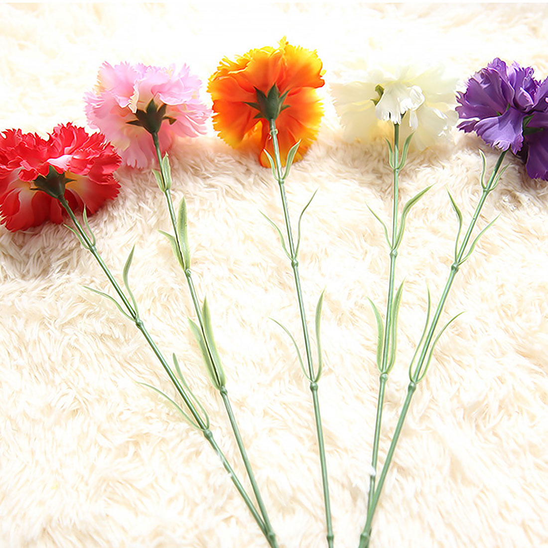 Wedding Favors And Gifts 1pc Diy Fresh Artificial Flowers Carnation
