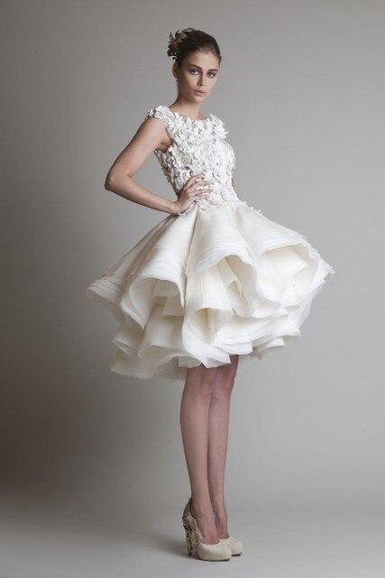 Vestiti da sposa corti