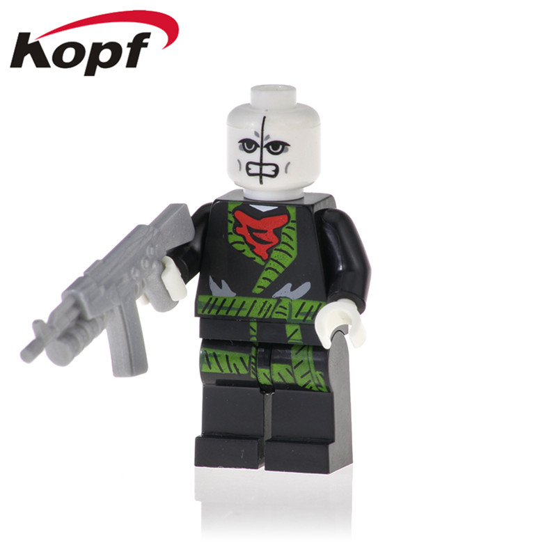 50Pcs XH 970 Super Heroes Building Blocks Venom Moives Chameleon Morbius The Living Vampire Figures Bricks For Children Toys(China)