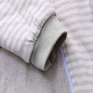 Image 5 - Sac de couchage bébé manches complètes nouveau né sac de sommeil 72*40cm bébé dormeur 0 12 mois