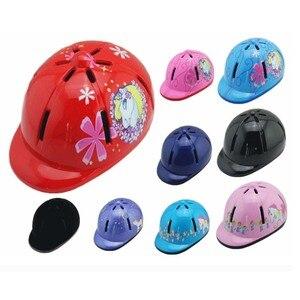 Image 2 - قبعة ركوب الخيل للأطفال قابلة للتعديل/خوذة رأس واقية خوذة احترافية للخيول معدات رياضية خارجية