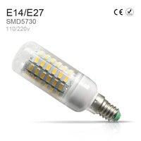 13 PZ Lampada LED Del Cereale Della Lampadina E27 220 V SMD5730 Bombillas LED Luce E14 luce di risparmio energetico 5 W 7 W 12 W 15 W 18 W 20 W Lamparas led fiala