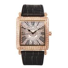 ساعة مربعة الموضة مصمم النساء الساعات مع حجر الراين الكوارتز ساعة ماسية بالكامل المرأة ساعة معصم relojes mujer MBT010