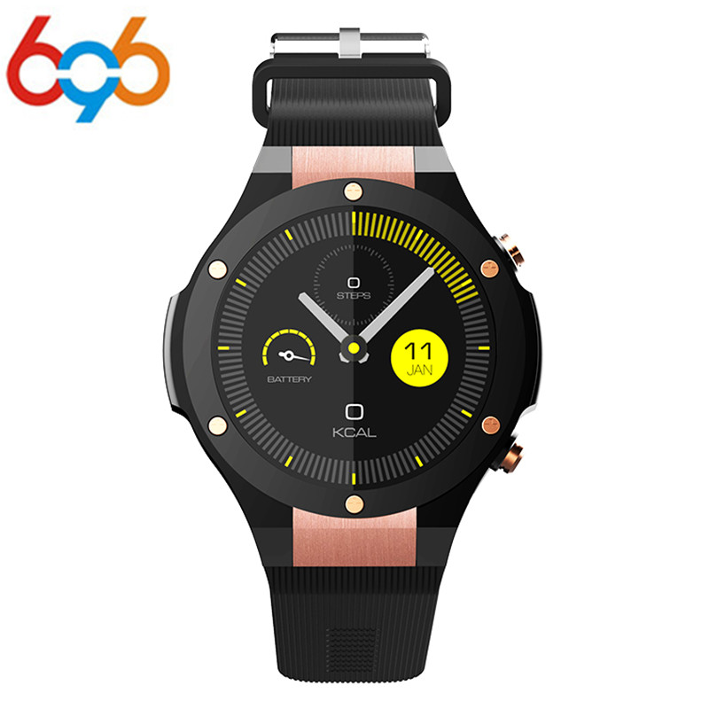 696 H2 Smart Watch MTK6580 Waterproof 1.40 Inch 400 * 400 Clock GPS Wifi 3G Heart Rate Monitor For Android IOS Phone Watches no 1 d5 bluetooth smart watch phone android 4 4 smartwatch waterproof heart rate mtk6572 1 3 inch gps 4g 512m wristwatch for ios