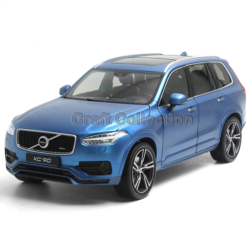 * Blue 1/18 GTA Volvo XC90 Sport 2015 SUV Die-Cast Model Car Luxury Miniature Toys Scale Models Alloy Gifts