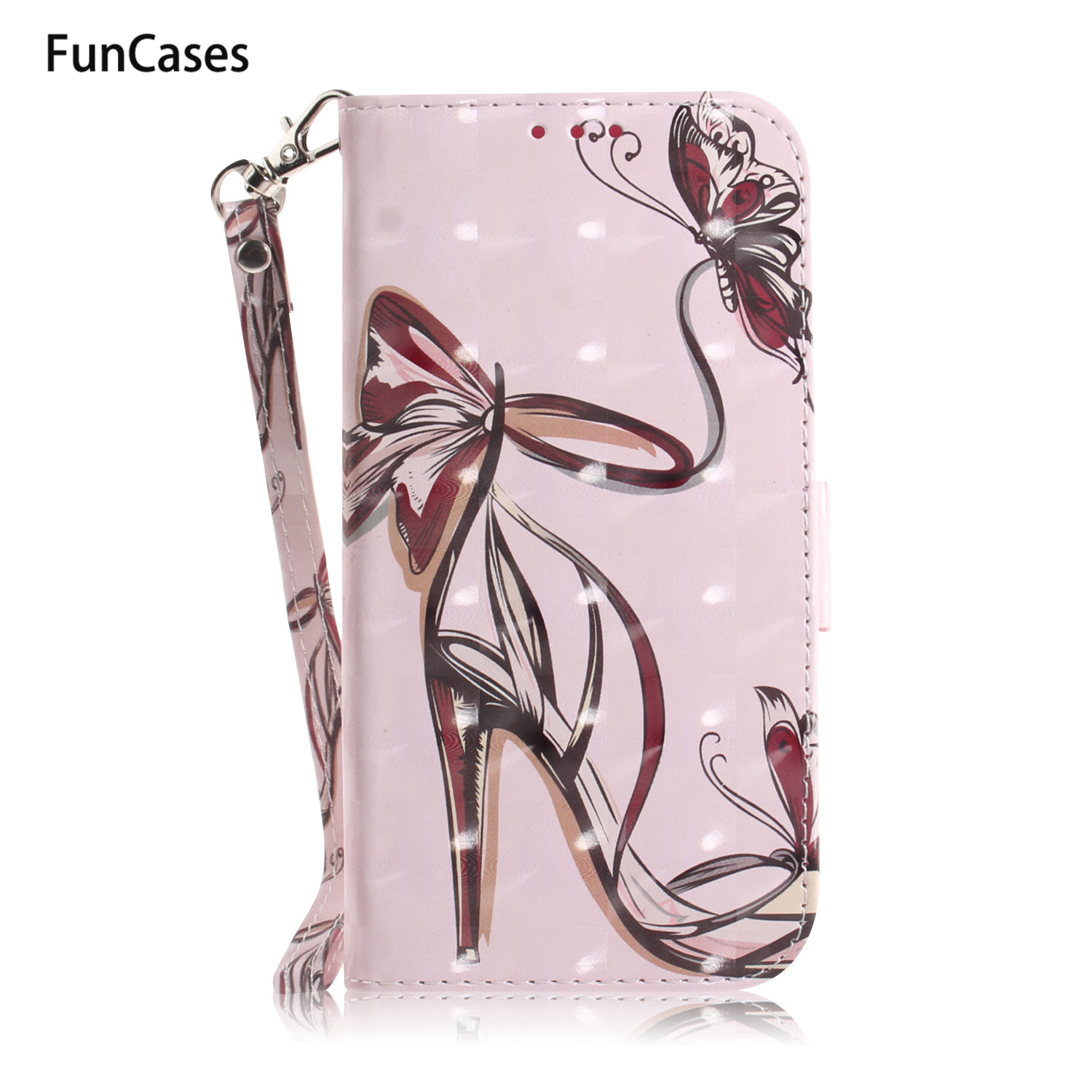 Case For capa Huawei Y6 2018 PU Leather Flip Phone Bag sFor Huawei Honor 7A Y6 Prime 2018 Nova 2i 3 3E 3i 4 <font><b>Y5</b></font> Y9 <font><b>2019</b></font> Etui image