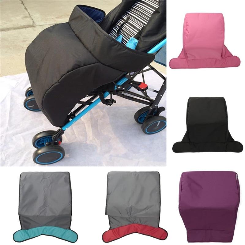 Baby Stroller Footmuff 60cm*40cm Universal Warm Kids Pushchair Pram Buggy Footmuff Windshield Cover