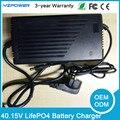 40.15 V 5.5A 4.5A 4A 5A 6A LifePO4 Carregador de Bateria Para 11 S 35.2 V Bateria lifepo4