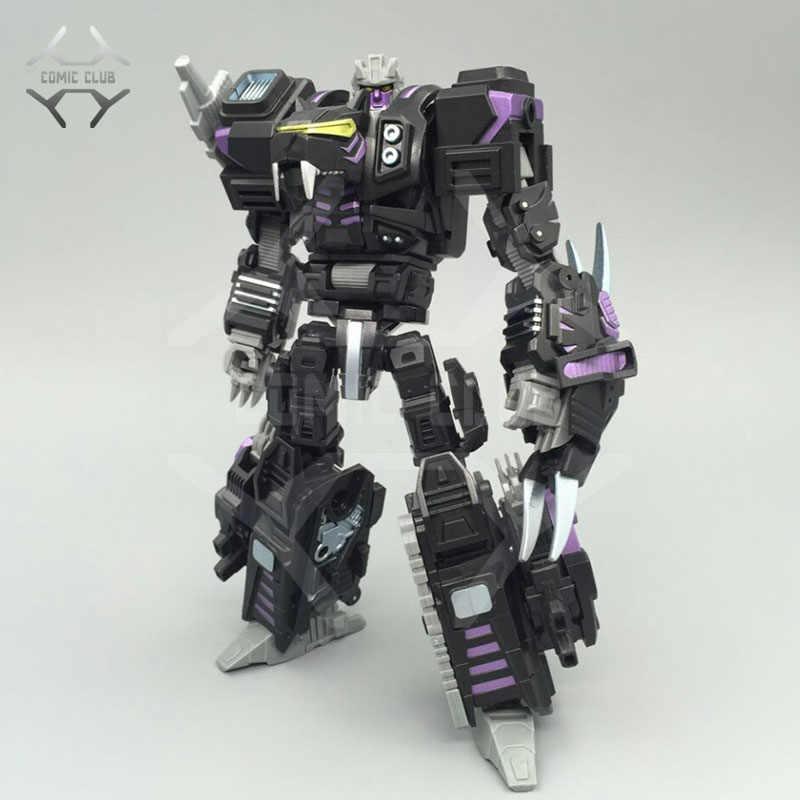 Comic Club в наличии neoart игрушки ko MMC Трансформация Робот черный темный Predaking uranus