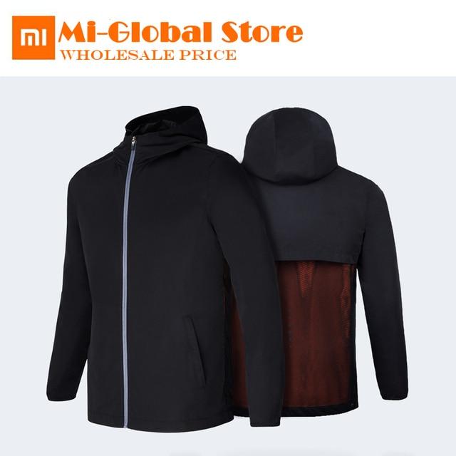 Original Xiaomi Men S Sports Backpack Coat A Jacket Also Bag Grade 4 Waterproof Upf 50