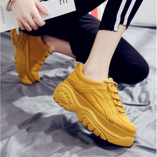 Brand sneakers women 2019 Spring summer Fashion Breathable Platoform Sneakers Leopard Causal shoes woman off white