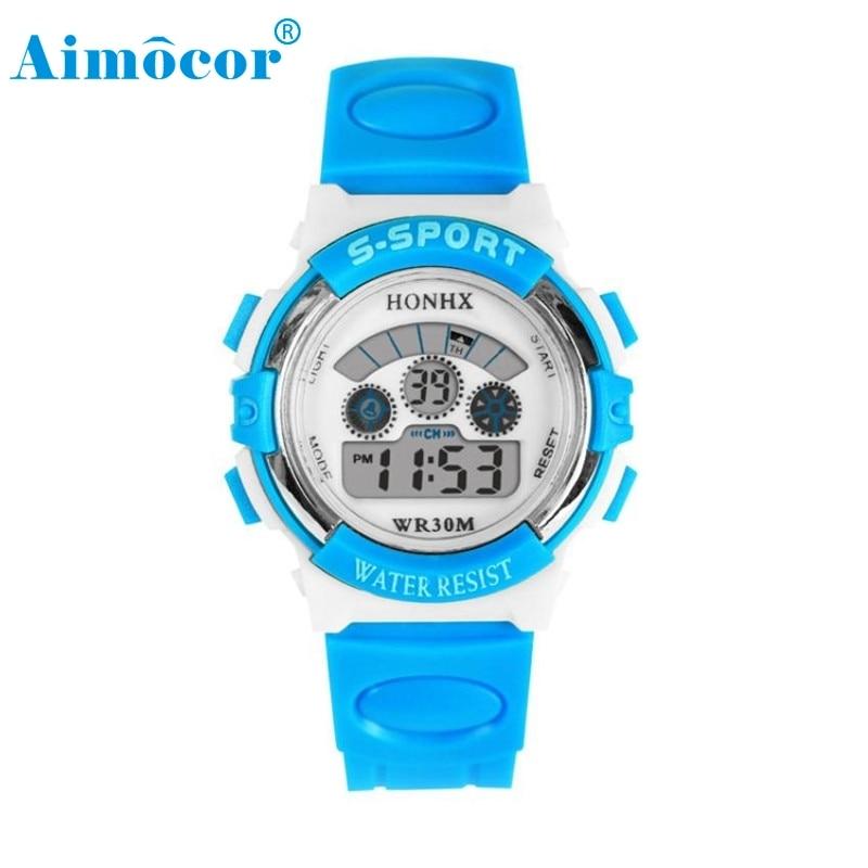 2017 Newly Designed HOT Waterproof Mens Boys LED Digital Quartz Alarm Date Sports Wrist Watch 327