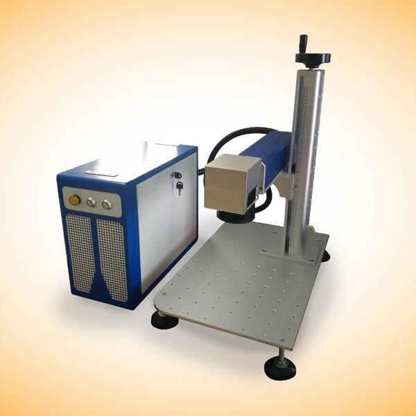 Höghastighets bordplatta 20W Metal Laser Marking Machine, Fiber Laser Marking Machine inget behov av underhåll