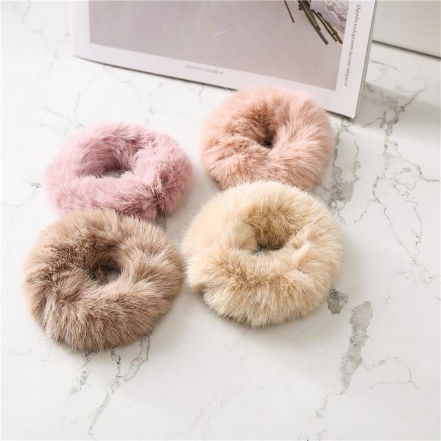 Women's Cute Elastic Furry Hair Band
