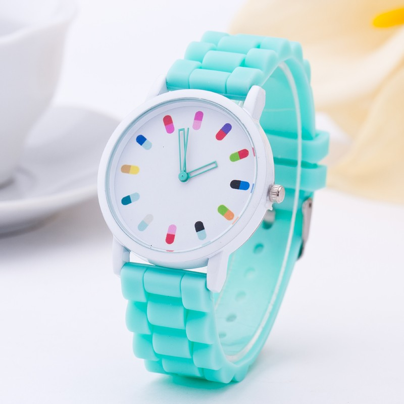 2016 New Famous brand women Dress watches Casual Geneva quartz watch women Silicone Jelly Sport wristwatch relogio feminino wristwatch new famous brand binger geneva casual quartz watch men stainless steel dress watches relogio feminino man clock hot