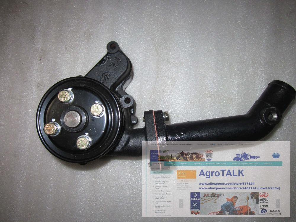 Yangdong YSD490 parts, the water pump for tractor use 6162 63 1015 sa6d170e 6d170 engine water pump for komatsu