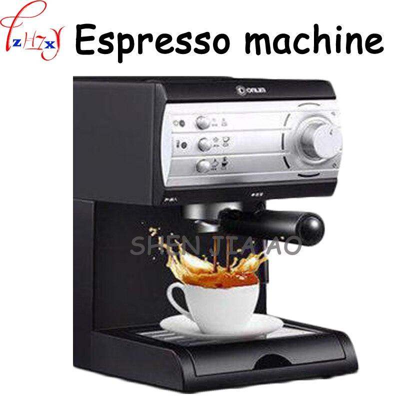 Yarı otomatik İtalyan kahve makinesi 20Bar yüksek basınçlı pompa buhar kahve makinesi ev/cafe çekme çiçek kahve makinesi 110 /220V