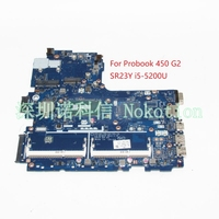 NOKOTION ZPL40 ZPL50 ZPL70 LA B181P 799552 601 799552 001 799552 501 Laptop motherboard For HP probook 450 G2 SR23Y i5 5200U