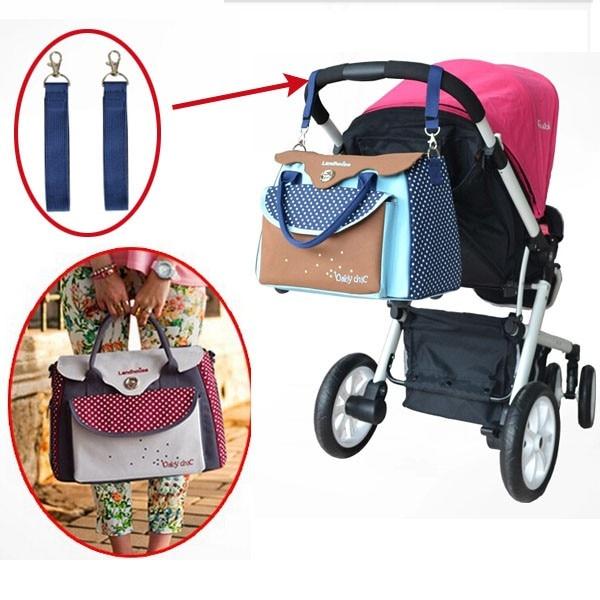 ФОТО Free shipping 2016 New Baby Diaper Bag Diaper Bag Stroller Multifunctional Bolsa Maternidade Bag for Mom and Baby