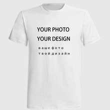Tshirt Own Logo Print Photography Custom Men Shirt White Star Printed Blouse Shirts Wholesale T Round T-shirt