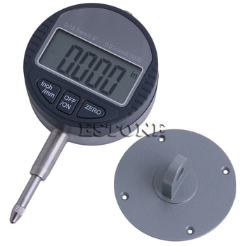 shahe 25 4mm 1 digital dial indicator 0 01 mm electronic dial indicator gauge Range 0-12.7mm/1 Gauge Digital Dial indicator Precision Tool 0.01mm/0.0005