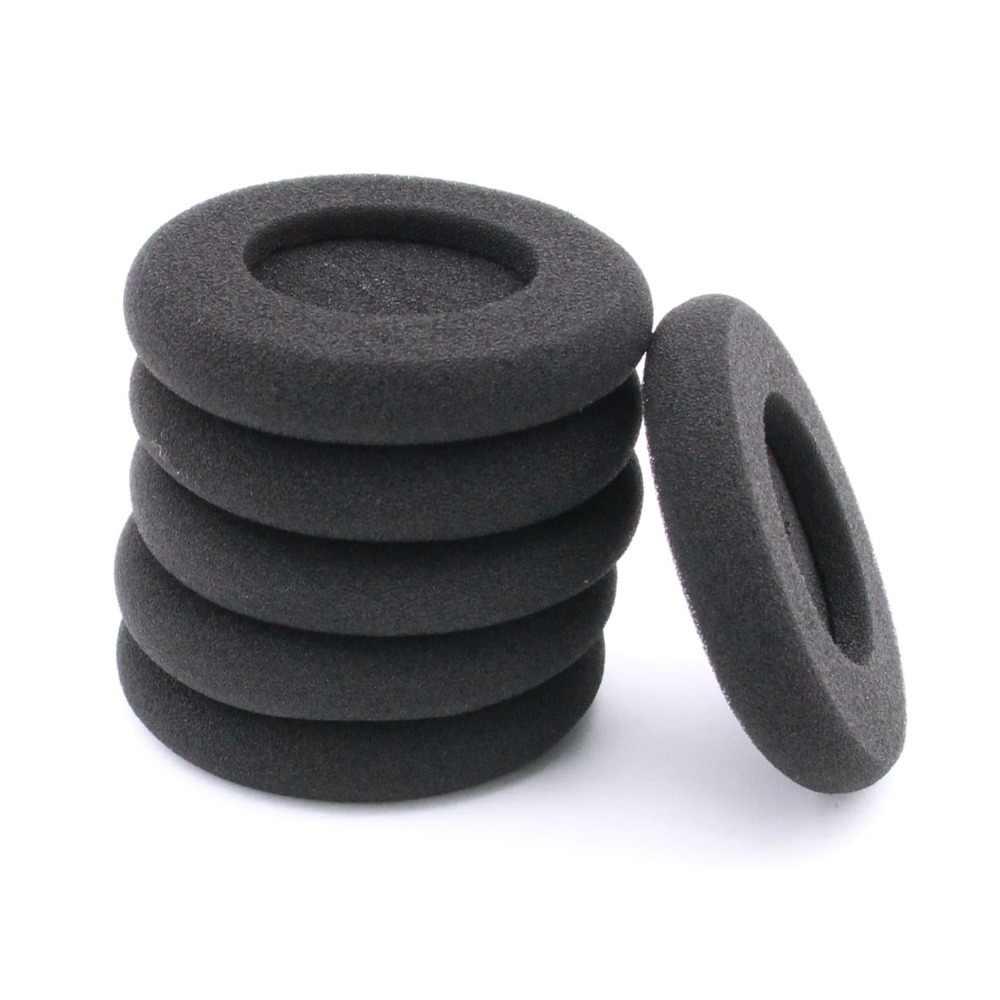 6 sztuk gruba pianka Earpads poduszki wkładki do uszu dla