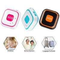 Vente chaude Mini Étanche Portable GPS Trackers Localisateur pour Enfants Chidren Personnes Âgées Animaux Chats Chiens Véhicule Wifi Emplacement SOS