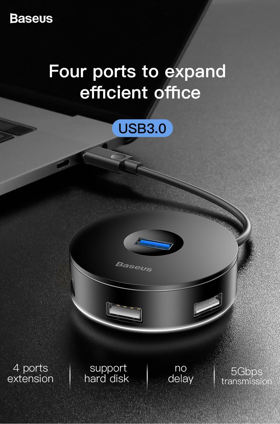 baseus round box hub adapter 3