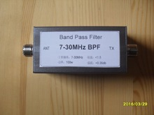 BPF-7-30 7-30MHz bandpass filter BPF improves anti-interference ability, reduces bottom noise and selectivity