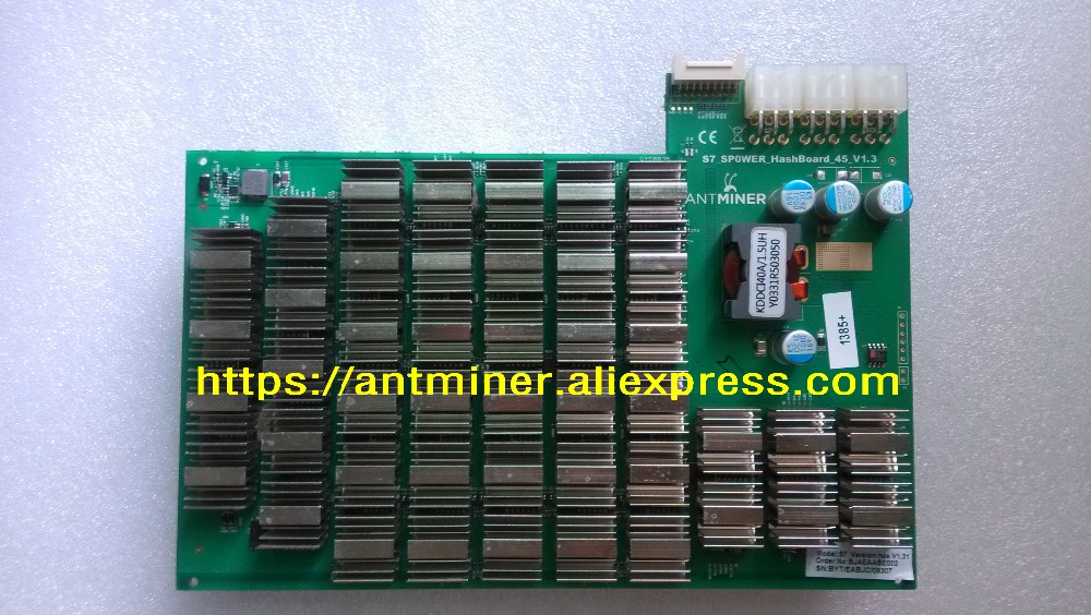 Antminer S7 4 73TH/s miner parts,S7 Repair hash plate Hash