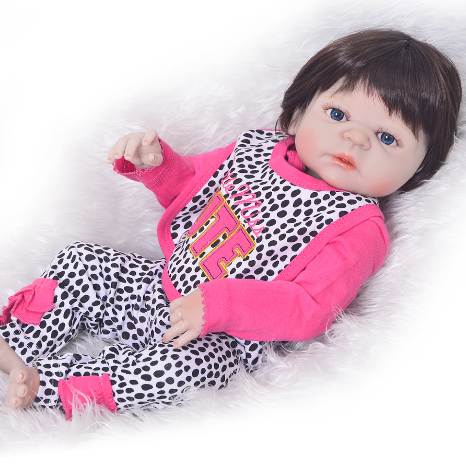 Bebes reborn doll juguetes 2357cm full silicone reborn baby doll newborn girl toddler dolls gift for child boneca rebornBebes reborn doll juguetes 2357cm full silicone reborn baby doll newborn girl toddler dolls gift for child boneca reborn