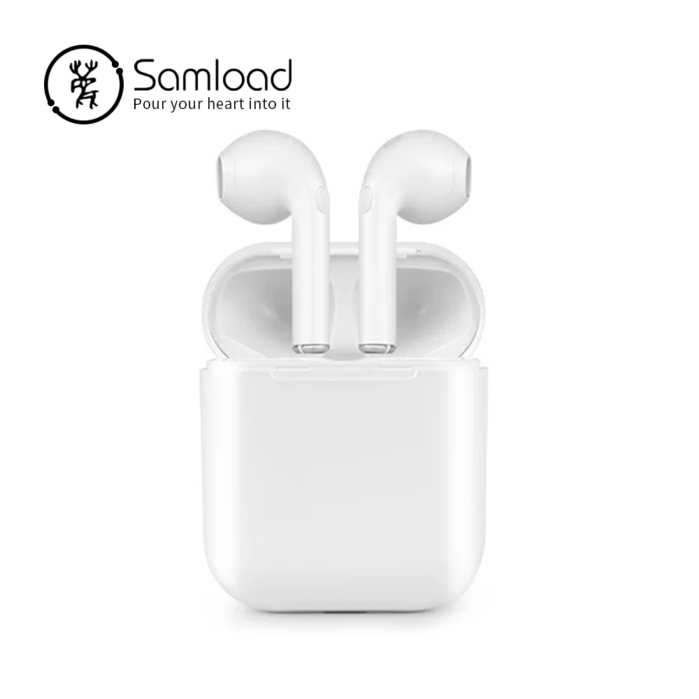 Samload TWS Bluetooth Earphones Mini True Wireless Earbud Headset For apple headphones iPhone Android Charging Box Samsung