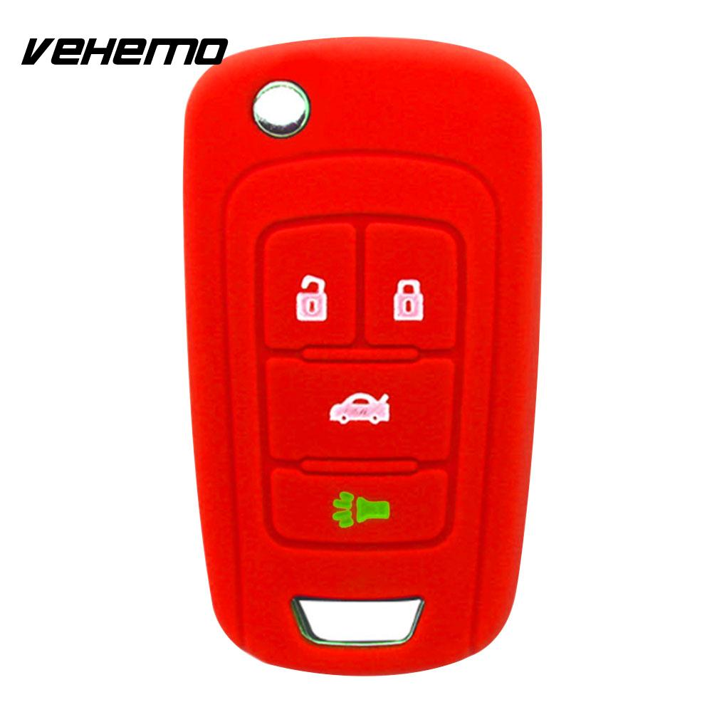 2018 Car Remote Control Case Soft Remote Fob Cover 4 Button Replacement Holder Car Key Shell for Buick Regal Cover