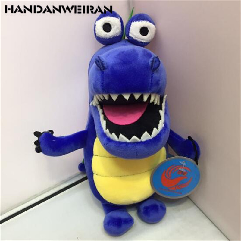 1PCS Mini Crocodile Plush Toys  Crocodiles Stuffed Toy Small Pendant Activities Gift For Kids Hot Sale 25CM HANDANWEIRAN
