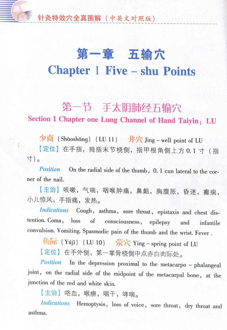 18.4X12.8cm 145 sayfa çin akupunktur kitap çizimi özel akupunktur noktaları (çince İngilizce) kitap libros