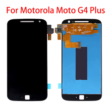 5.5 Original LCD Display For Motorola Moto G4 Plus Touch Screen with Frame for MOTO XT1644 XT1640 XT1641 XT1625