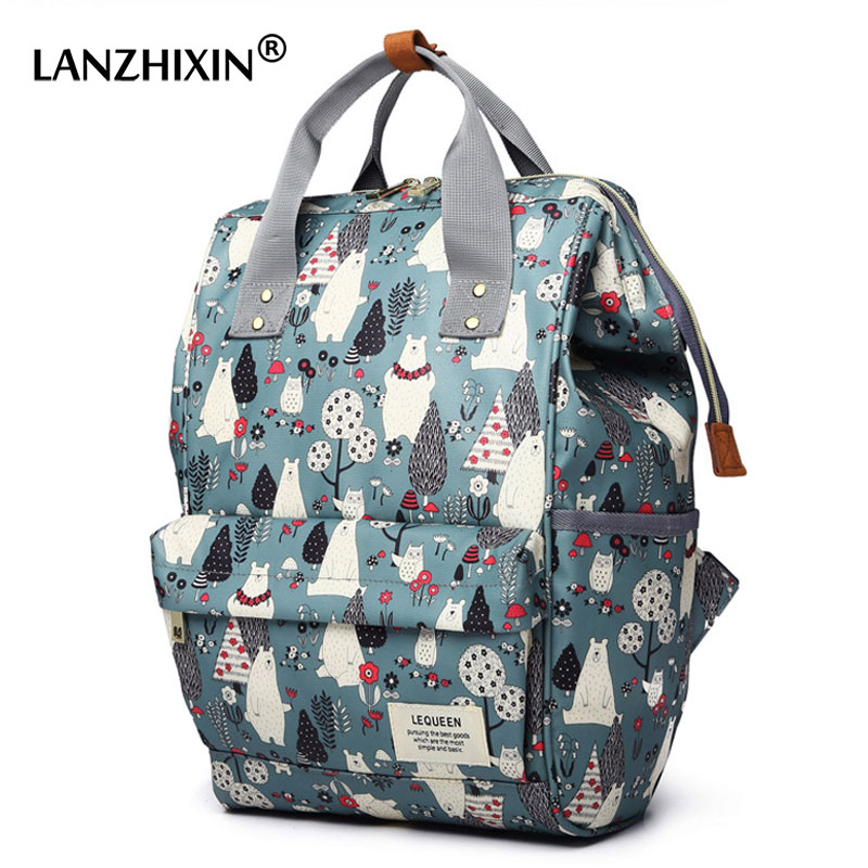 Diaper Bags For Women Maternity Nappy Bags Baby Care Travel Backpacks Female Waterproof Outdoor Pregnant Women Backpack Mochilas