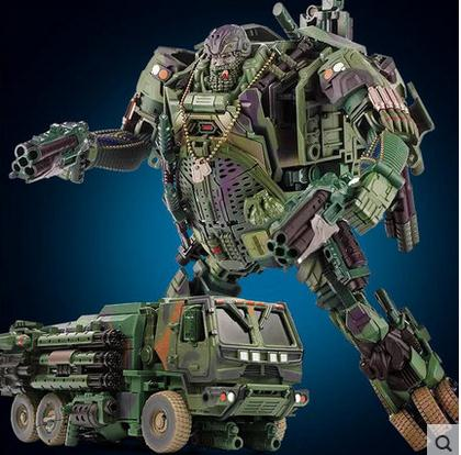 Free Shipping hot sale Leader Hound big size 31cm Weijiang Model TF Transformation Robot Optimus Alloy&ABS